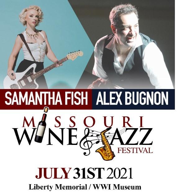 Missouri Wine & Jazz/Blues Festival 2021