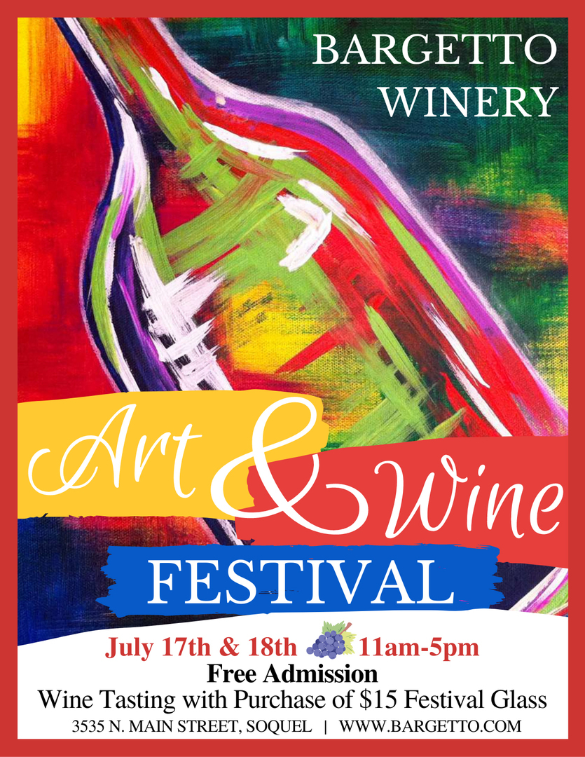 Bargetto Art and Wine Festival