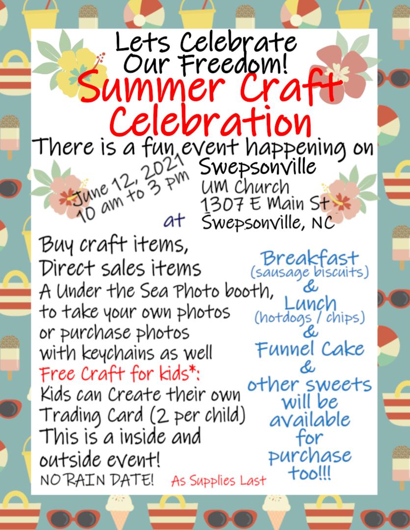 Summer Craft Celebration