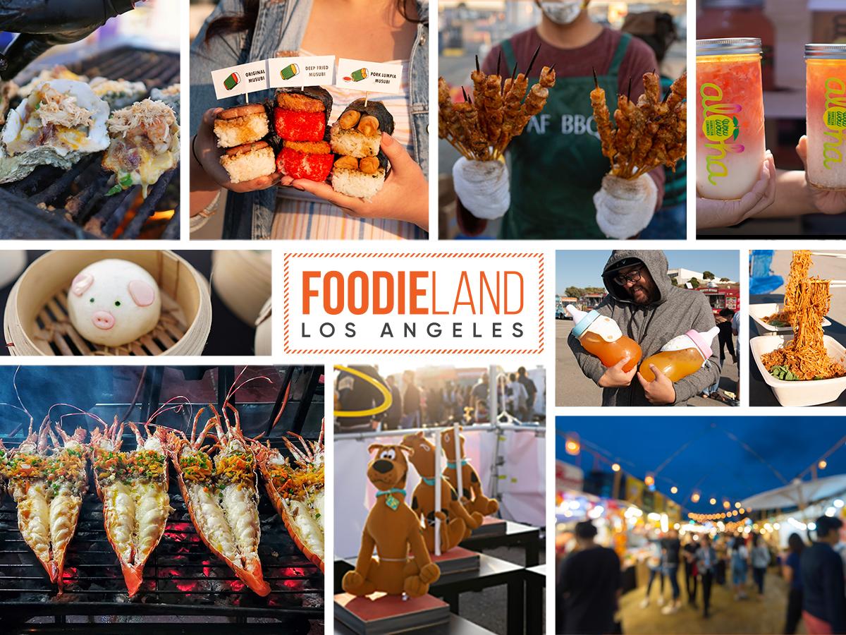 FoodieLand Night Market - Rose Bowl Stadium | August 13-15