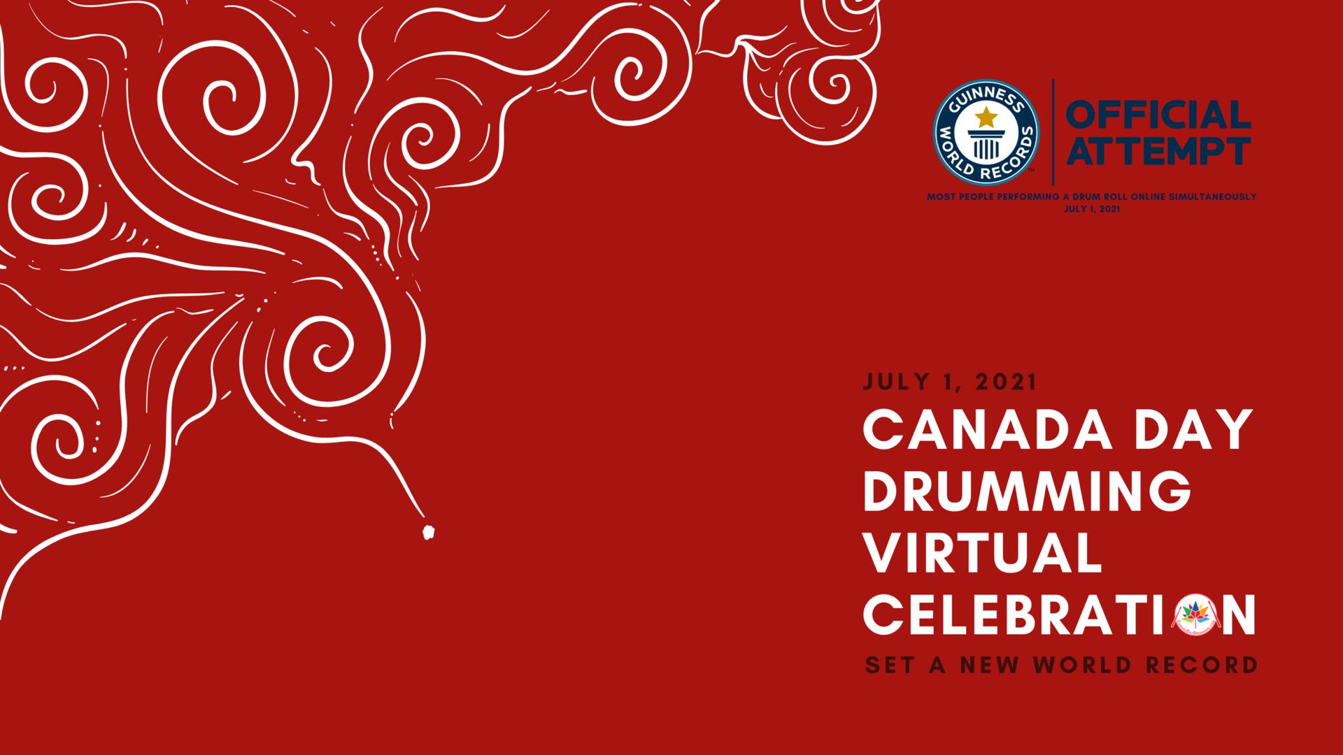 Canada Day Drumming Virtual Celebration 2021