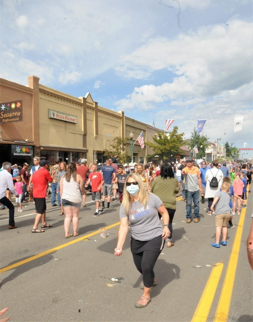 Border Days - Street Sports and Super Egg Toss - Main Street