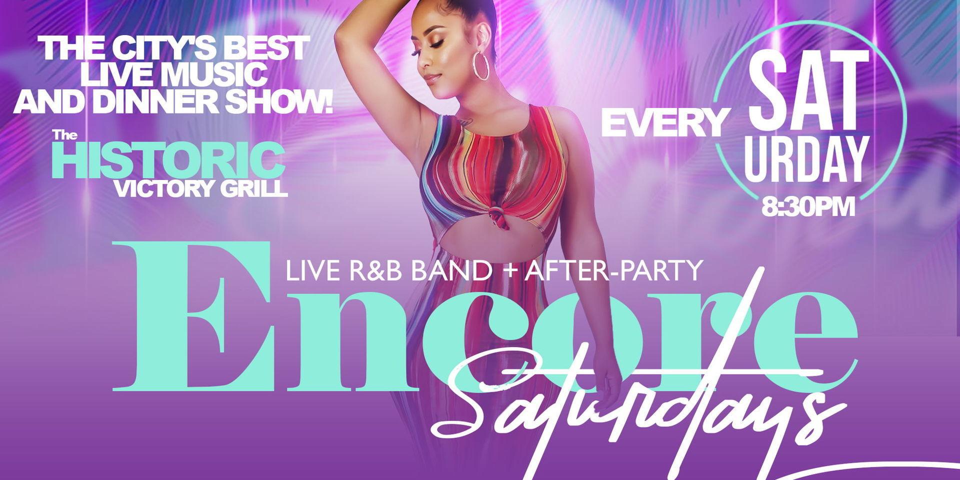 Encore Saturdays | Live Music and Dinner