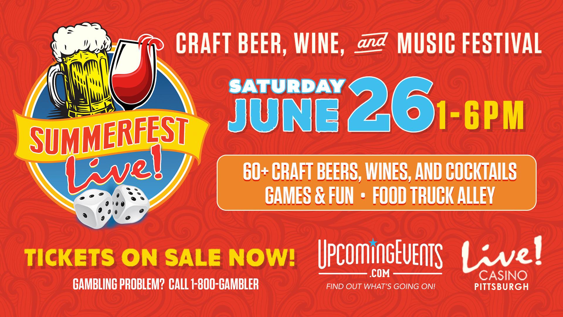 SummerFest Live! Craft Beer & Wine Festival