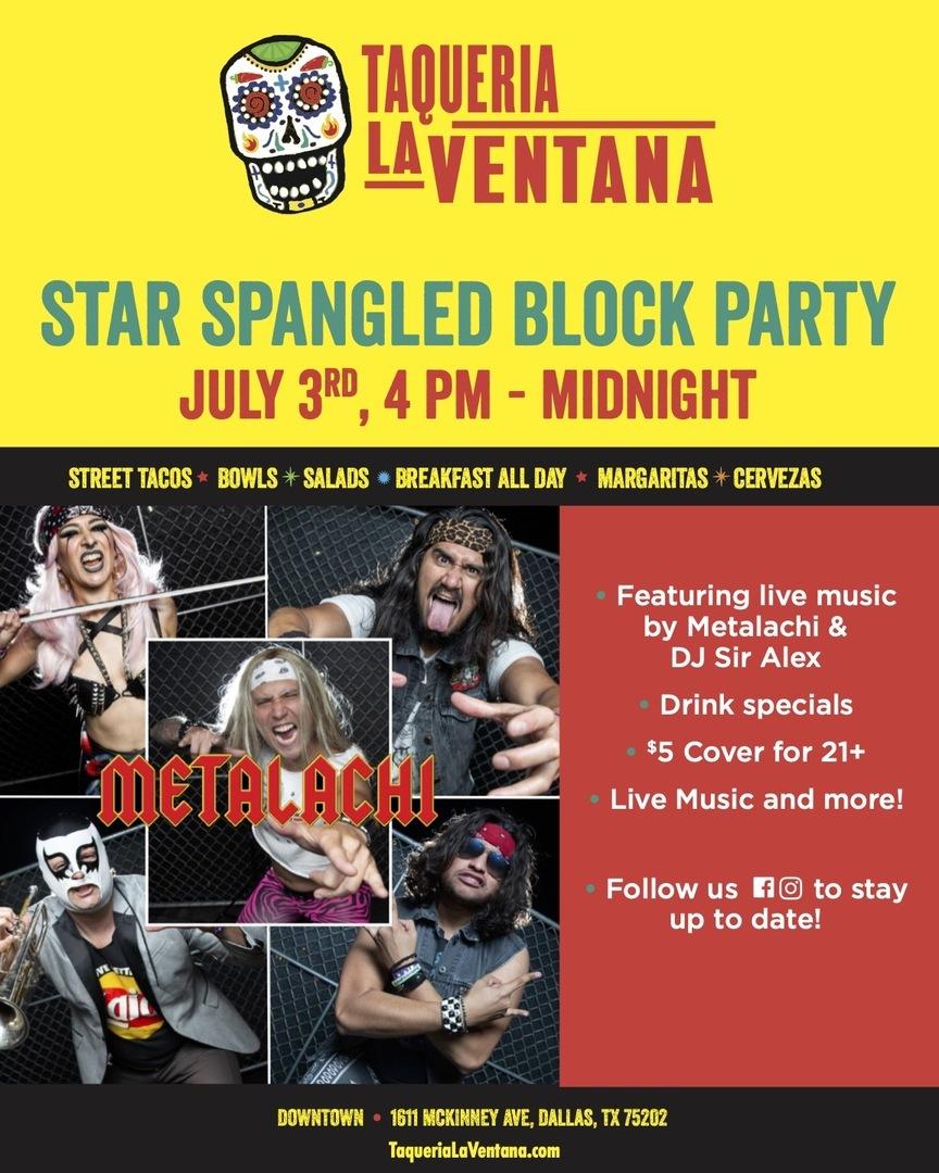 Star Spangled Block Party at La Ventana