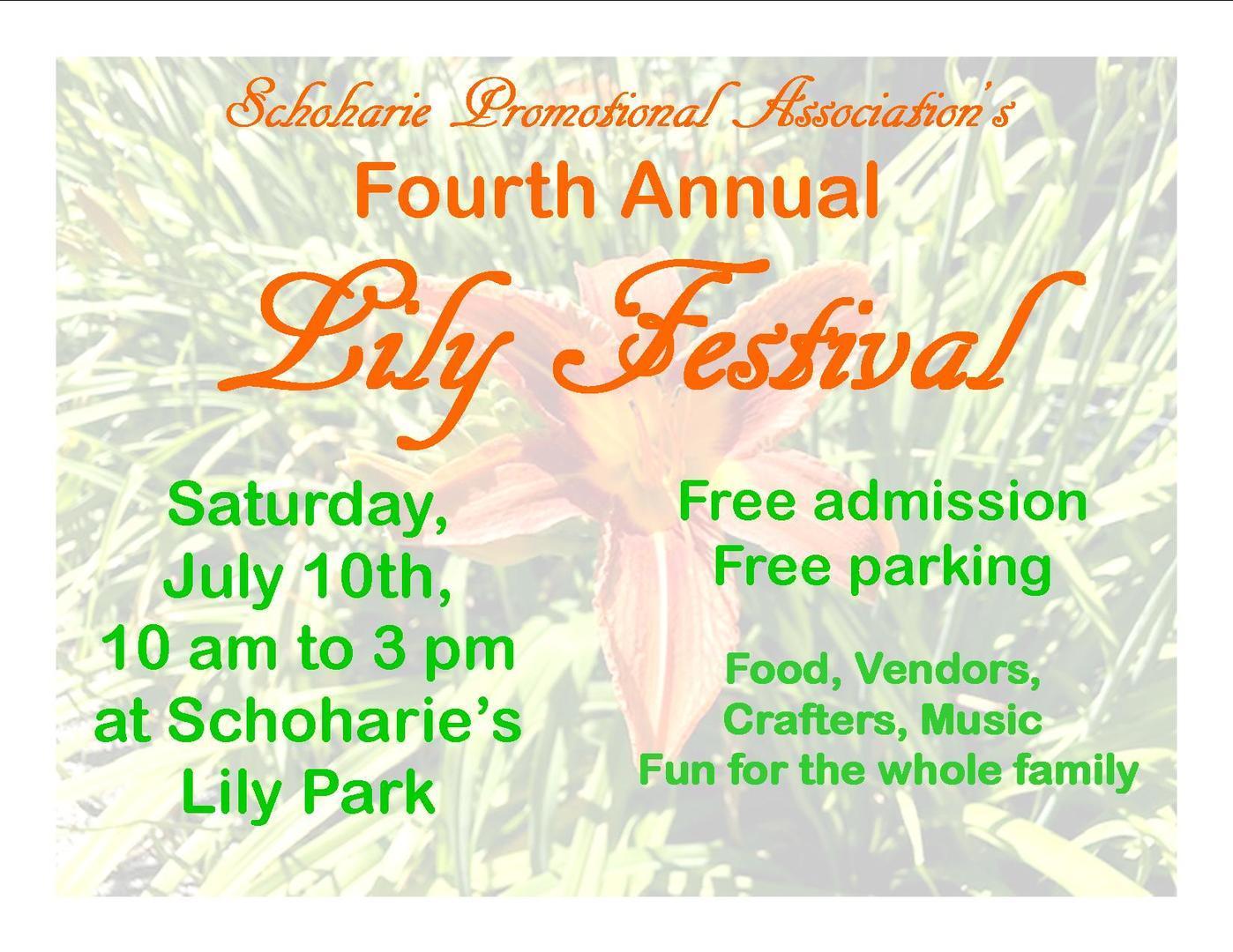 Schoharie Lily Festival