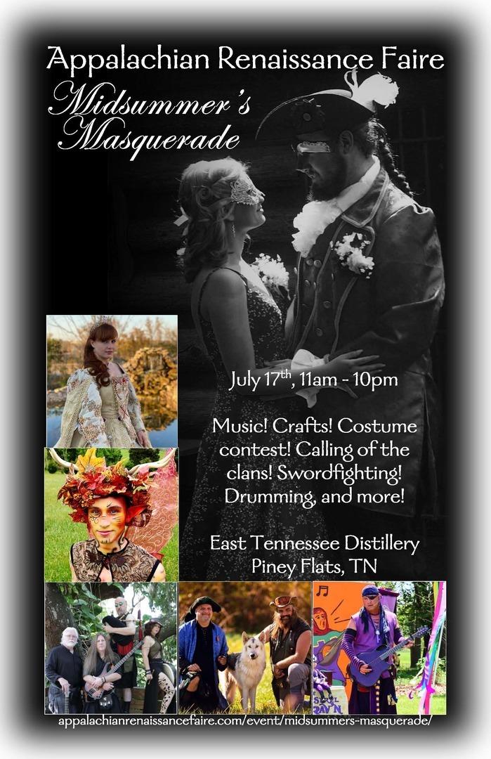 Appalachian Renaissance Faire of Tennessee presents : Midsummer's Masquerade