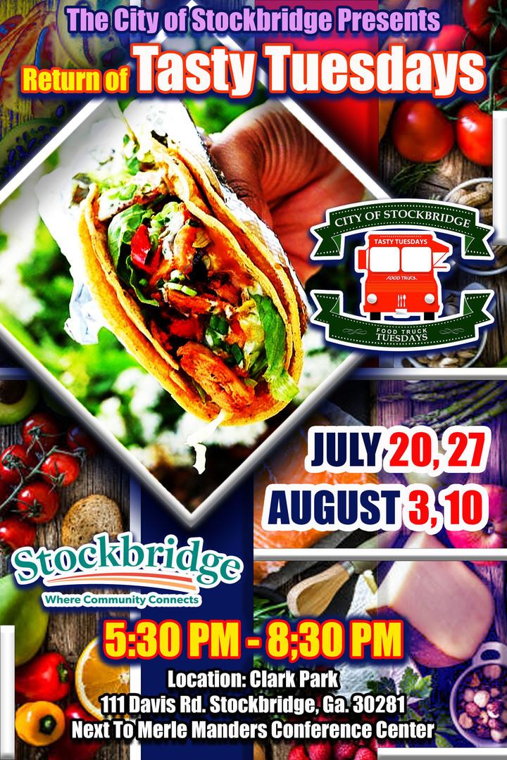 Stockbridge Food Truck Tasty Tuesdays