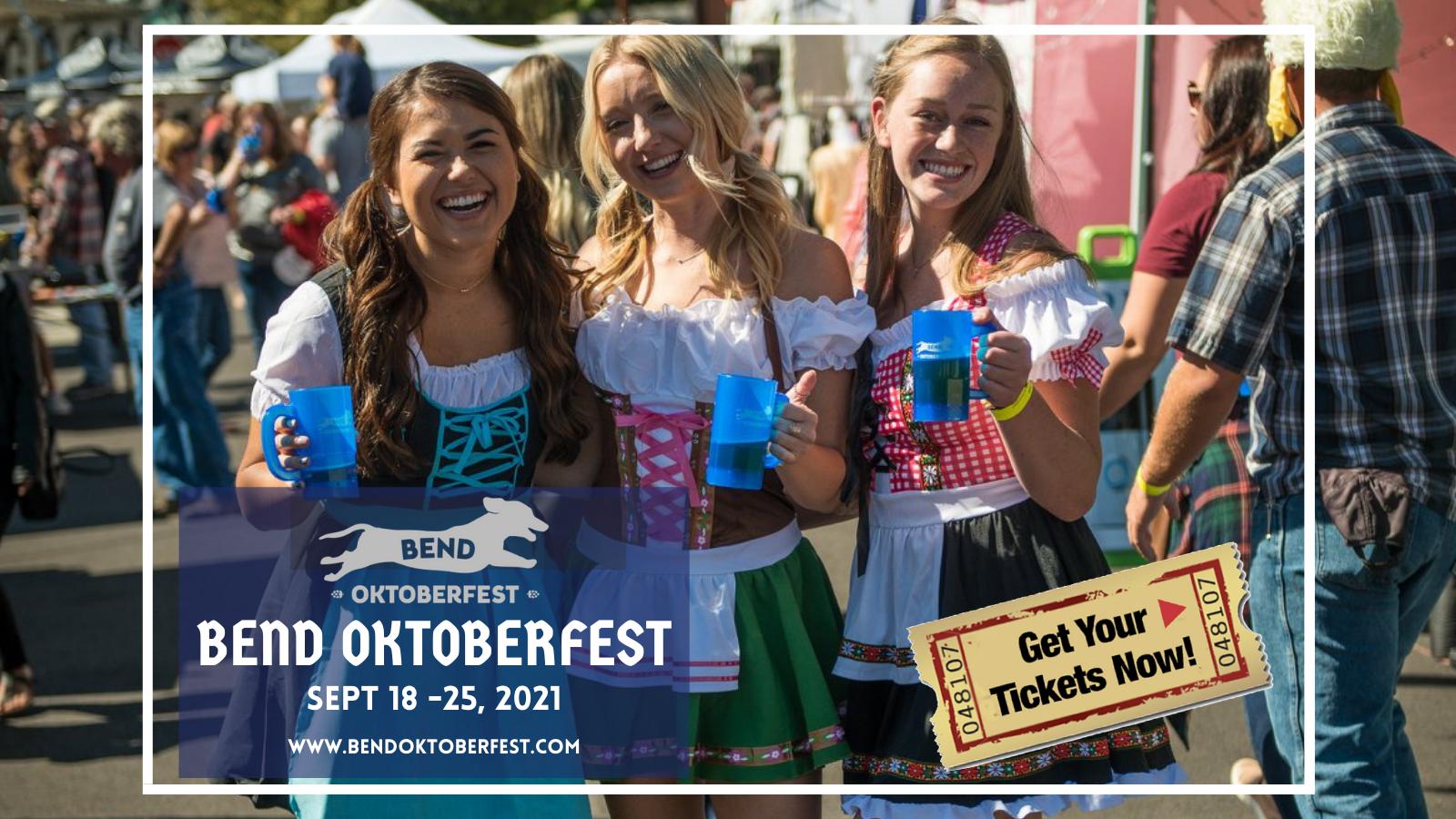 16th Annual Bend Oktoberfest | Sept 2021