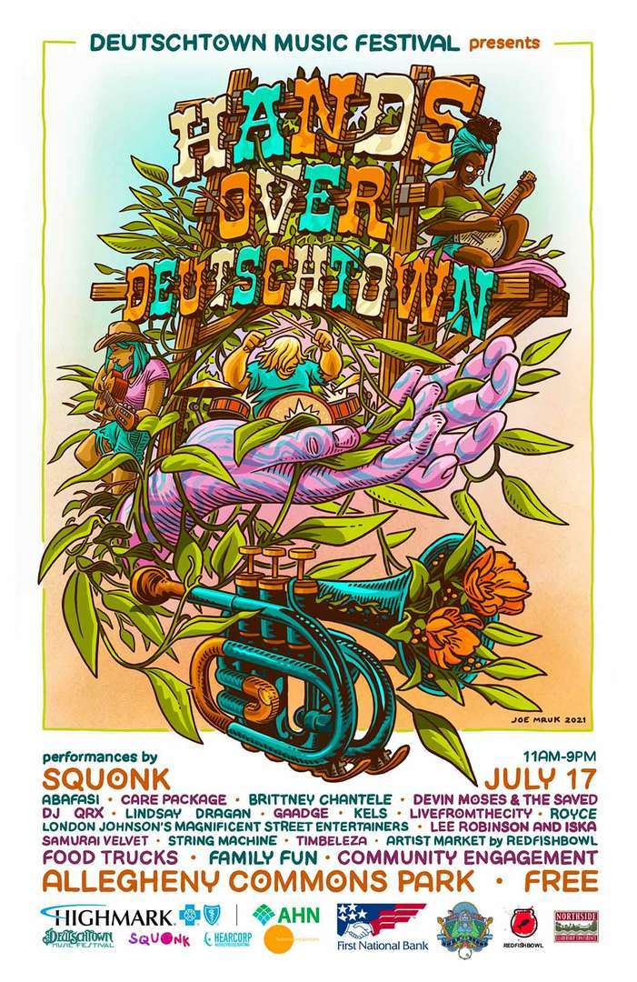 Deutschtown Music Festival Presents: Hands Over Deutschtown!
