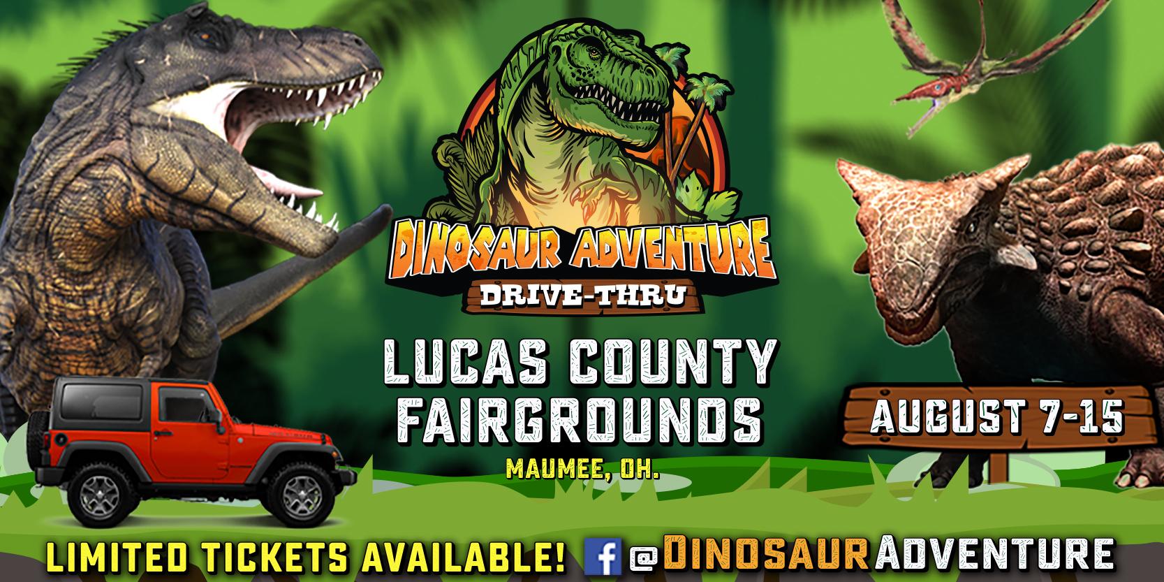 Dinosaur Adventure Drive Thru Toledo