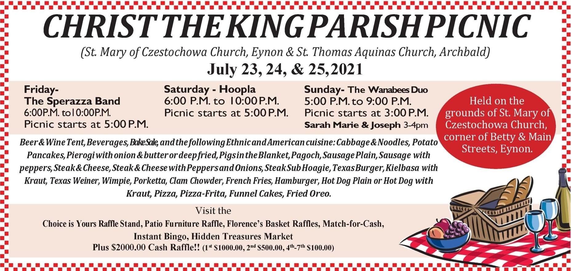 Christ the King Parish Picnic
