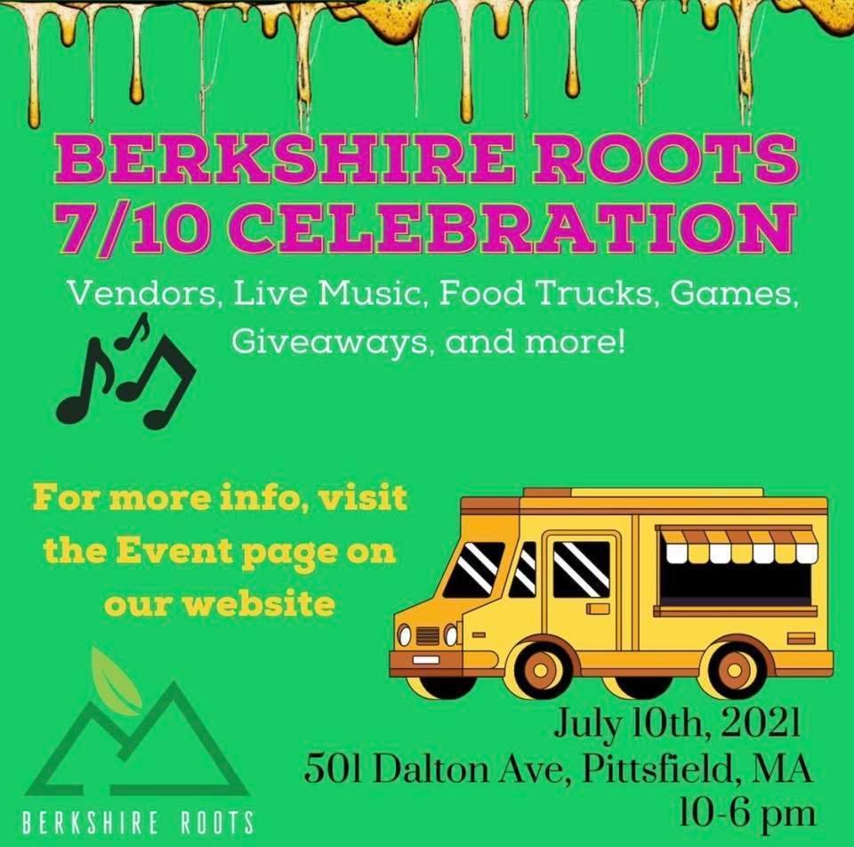 Berkshire Roots Summer Celebration Saturday July 10th