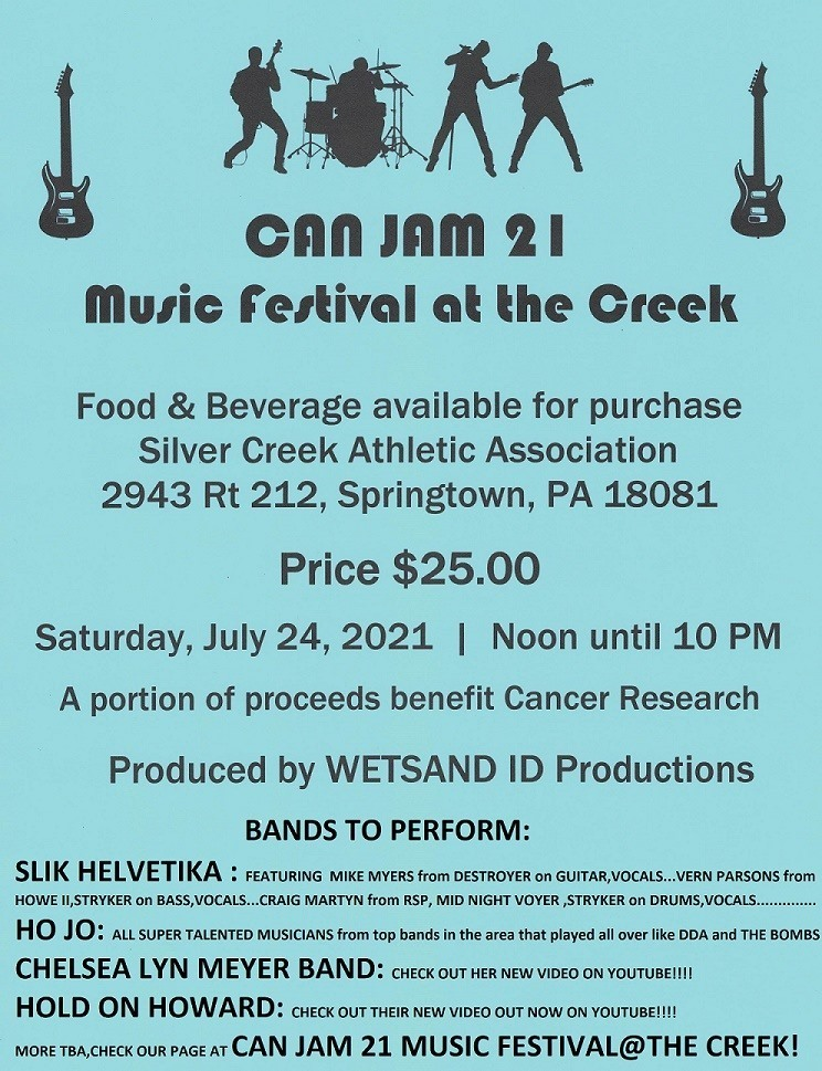 CAN JAM 21 Music Festival at the Creek