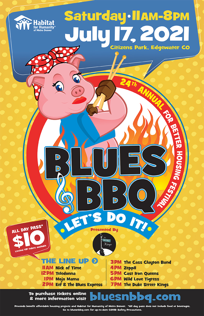 24th Annual Blues & BBQ for Better Housing