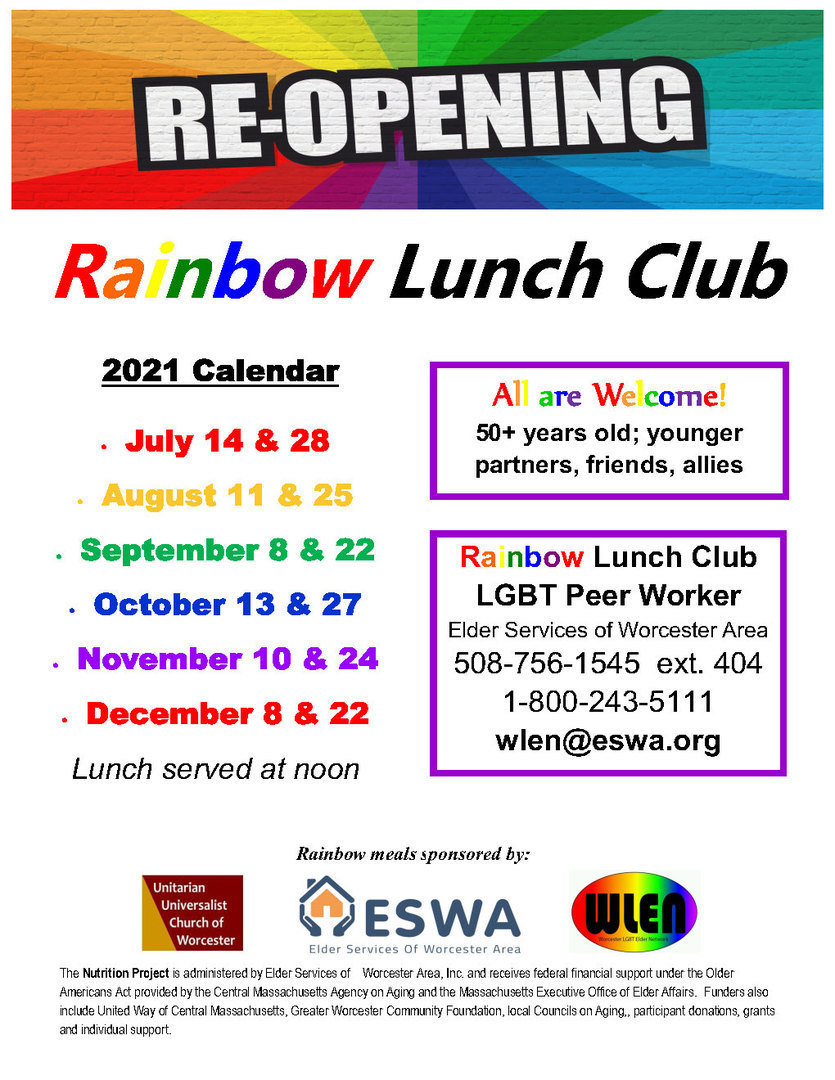 Rainbow Lunch Club
