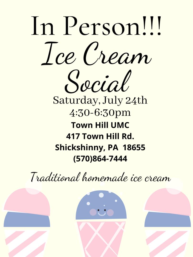 In Person Ice Cream Social