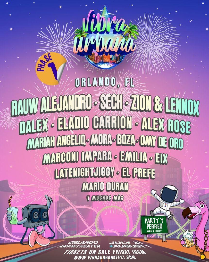 Vibra Urbana Music Festival
