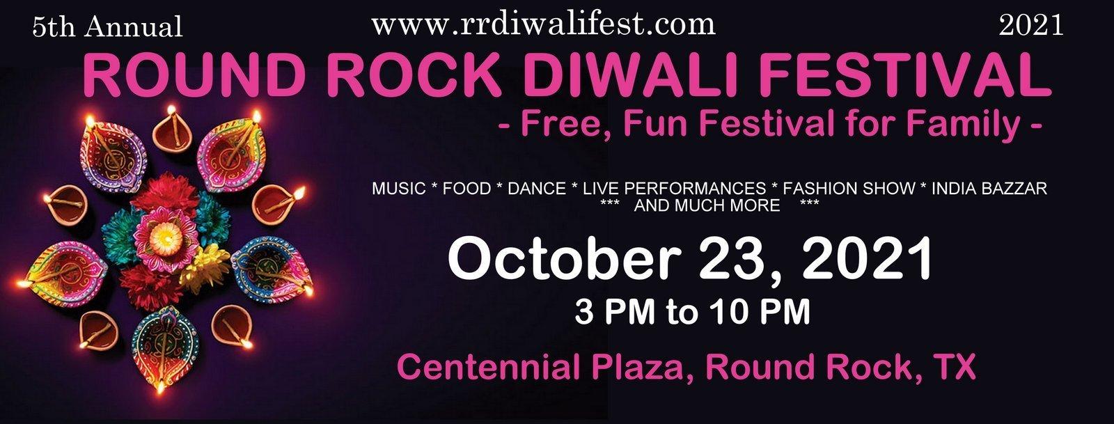 Round Rock Diwali Festival - Festival of Lights in Austin