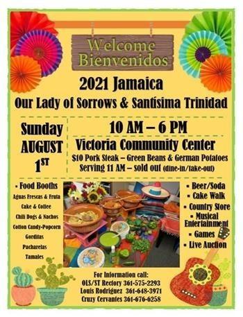 Our Lady of Sorrows & Santísima Trinidad 2021 Jamaica