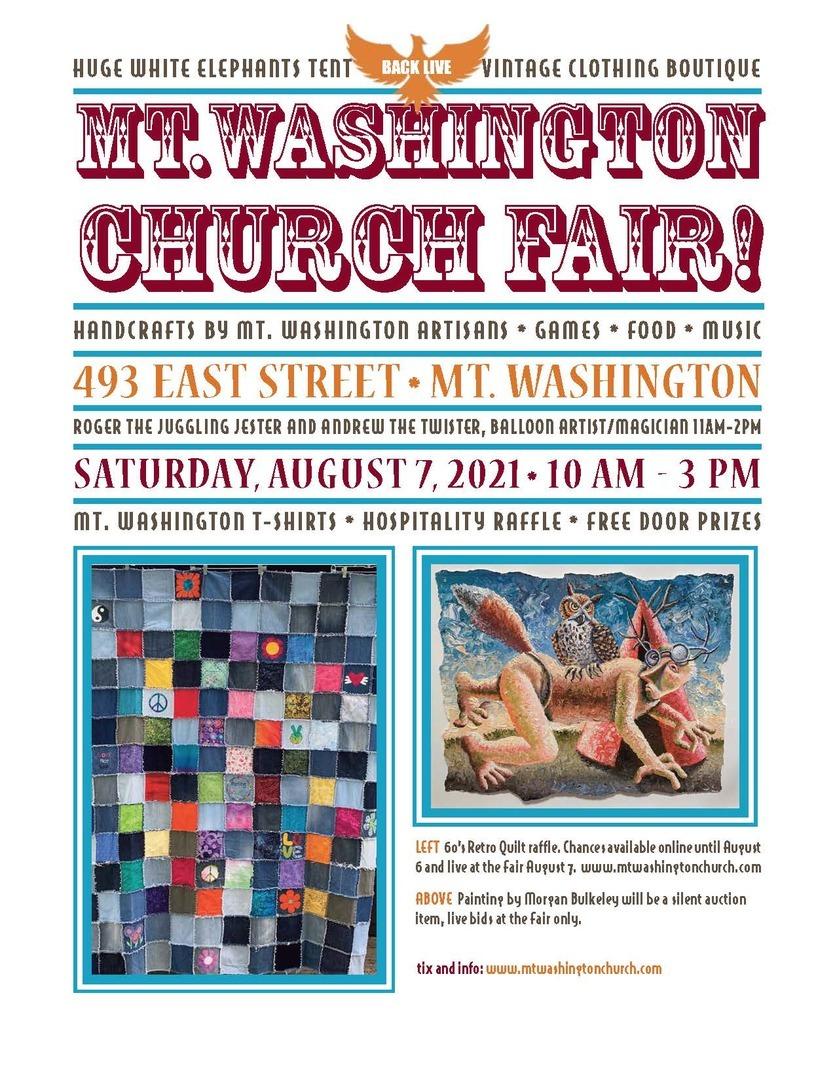 Mt. Washington Church Fair