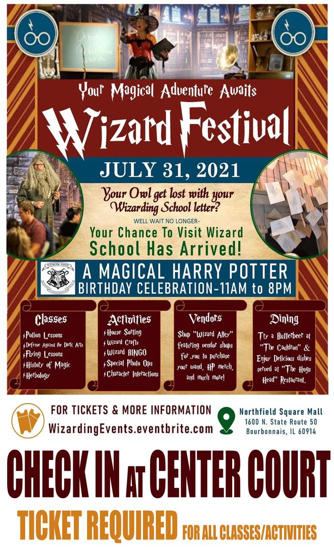 Wizard Festival - Harry Potter's Birthday Celebration