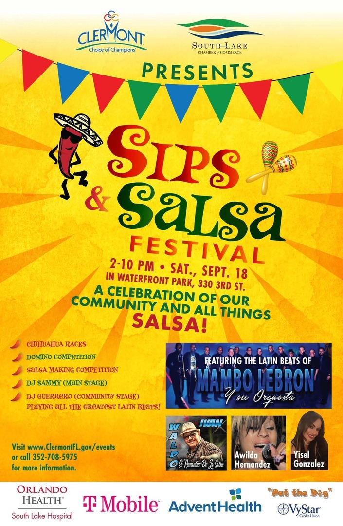 Clermont Sips & Salsa