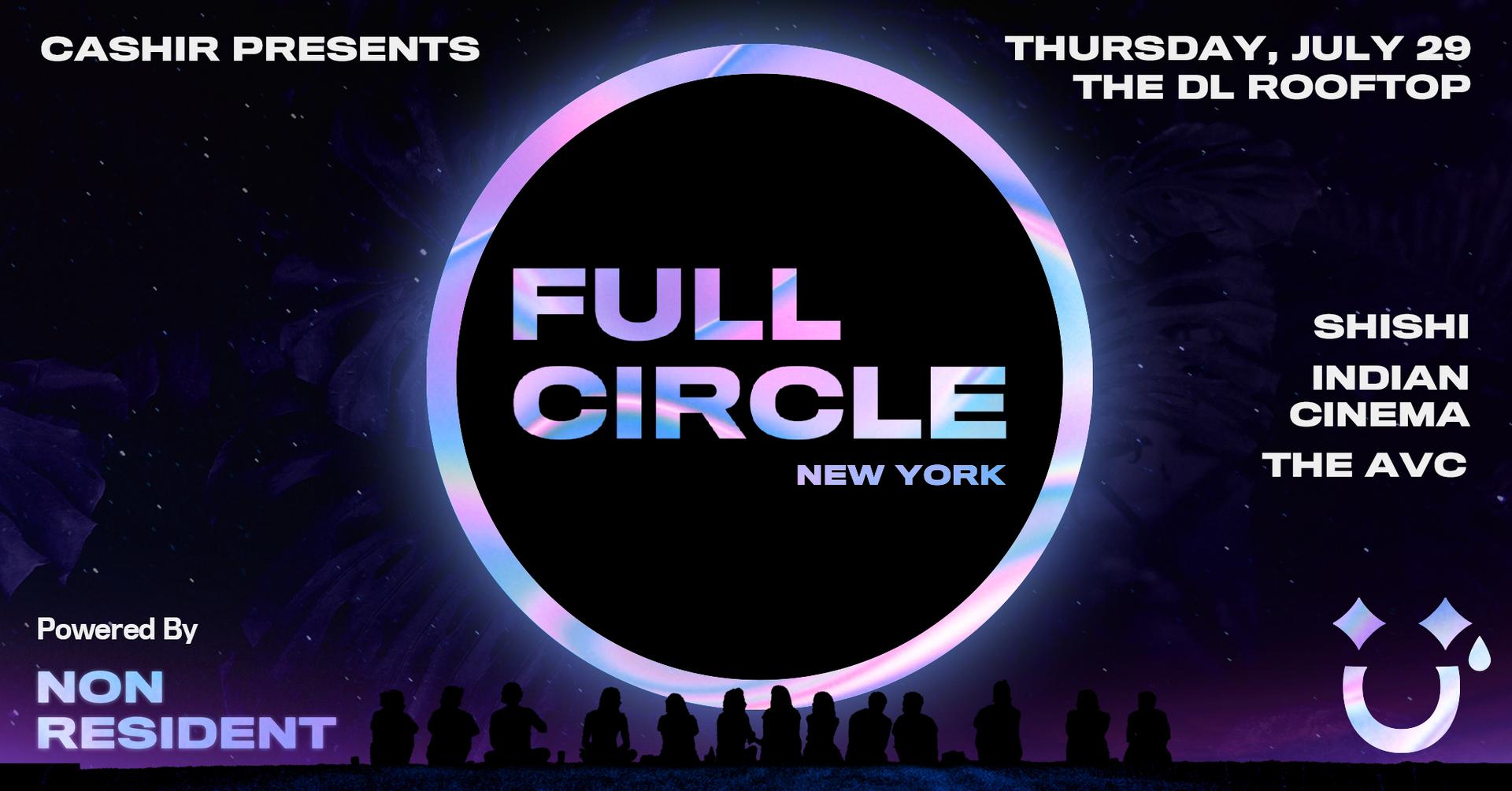 FULL CIRCLE NYC: ShiShi, Indian Cinema, The AVC