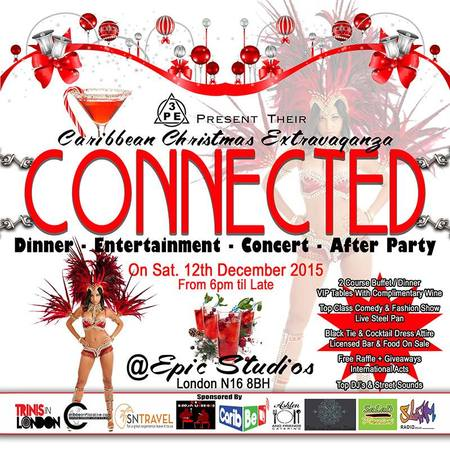 CONNECTED - A Caribbean Christmas Extravaganza