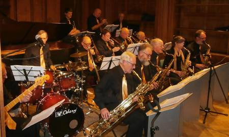 The Supertonics Big Band, plus Guest Female Vocalist - Popular Swing & Jazz