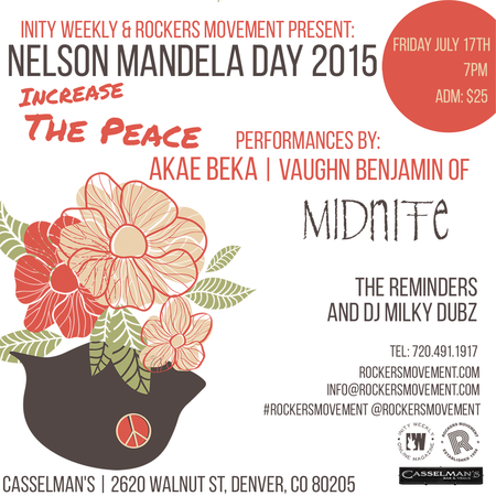 Nelson Mandela Day Denver