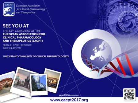 13th European Congress of Clinical Pharmacology and Therapeutics - EACPT 2017