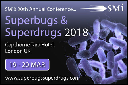 Pushing industry collaboration to facilitate the Global Action Plan on antimicrobial resistance at SMi's 20th annual global event: Superbugs & Superdrugs 2018. Includes exclusive keynote from the MHRA