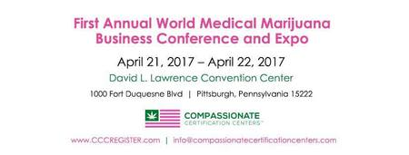 World Medical Marijuana Business Conference & Expo Pittsburgh PA April