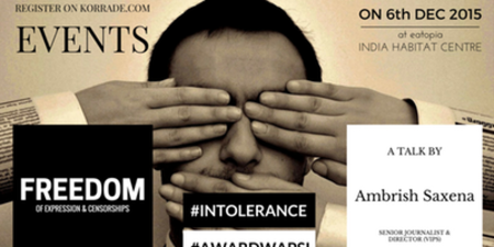 Freedom of Expression ( Open House Talk - #Intolerance & #AwardWapsi)