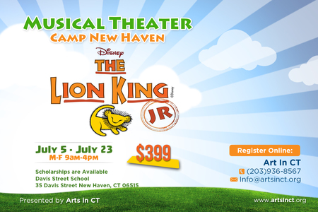 Musical Theater Camp New Haven The Lion King Jr