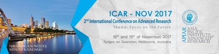 International Conference on Advanced Research
