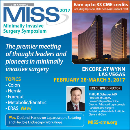 17th Annual Minimally Invasive Surgery Symposium (MISS)