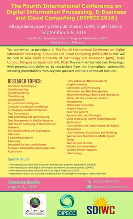 The Fourth International Conference on Digital Information Processing, E-Bu