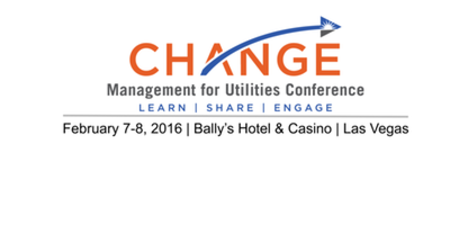 4th Change Management for Utilities Conference
