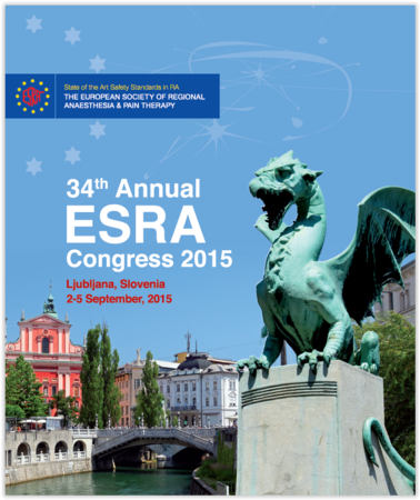 European Society of Regional Anaesthesia & Pain Therapy - ESRA 2015