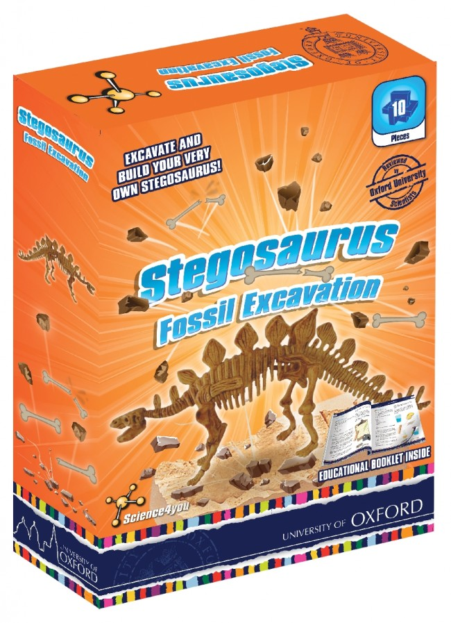 Science4You Fossil Excavation – Stegosauros