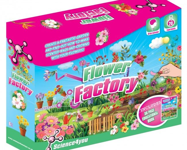 Science4You Flower Factory