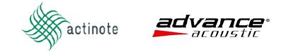 Actinote - Advance Acoustics