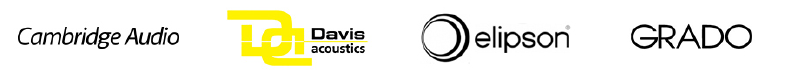 Cambridge Audio - Davis Acoustics - Elipson - Grado