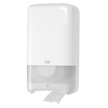 Tork Rol Houder.Tork T6 Twin Mid Size Toiletrol Dispenser Wit Tork