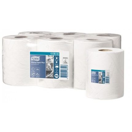 130044 tork wiping paper plus centerfeed