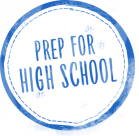 Prep for high school logo