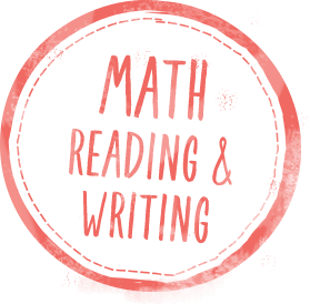 Math, reading and writing logo