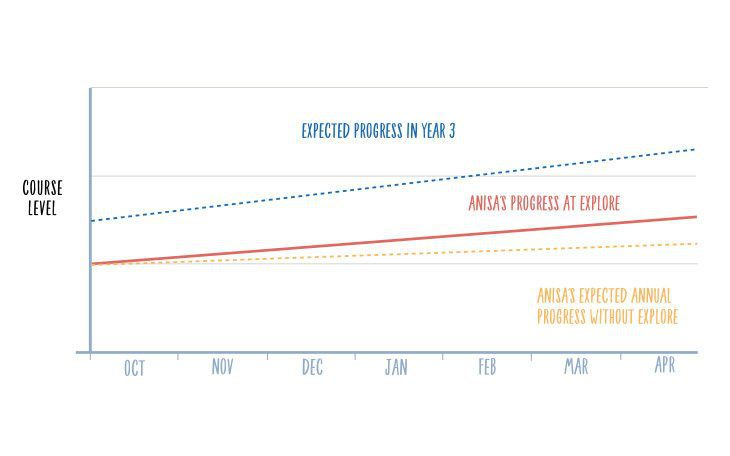 anisas progress graph